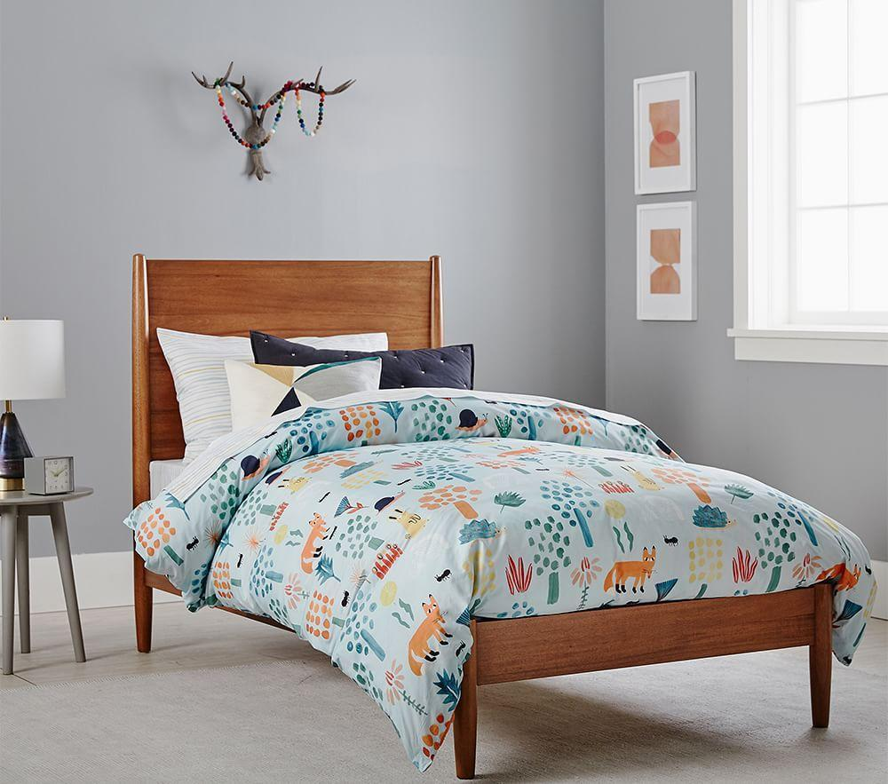 west elm x pbk Mid-Century Bed - Acorn