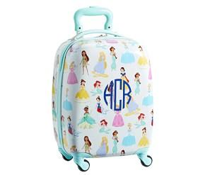 Mackenzie Aqua Disney Princess Hard Sided Luggage