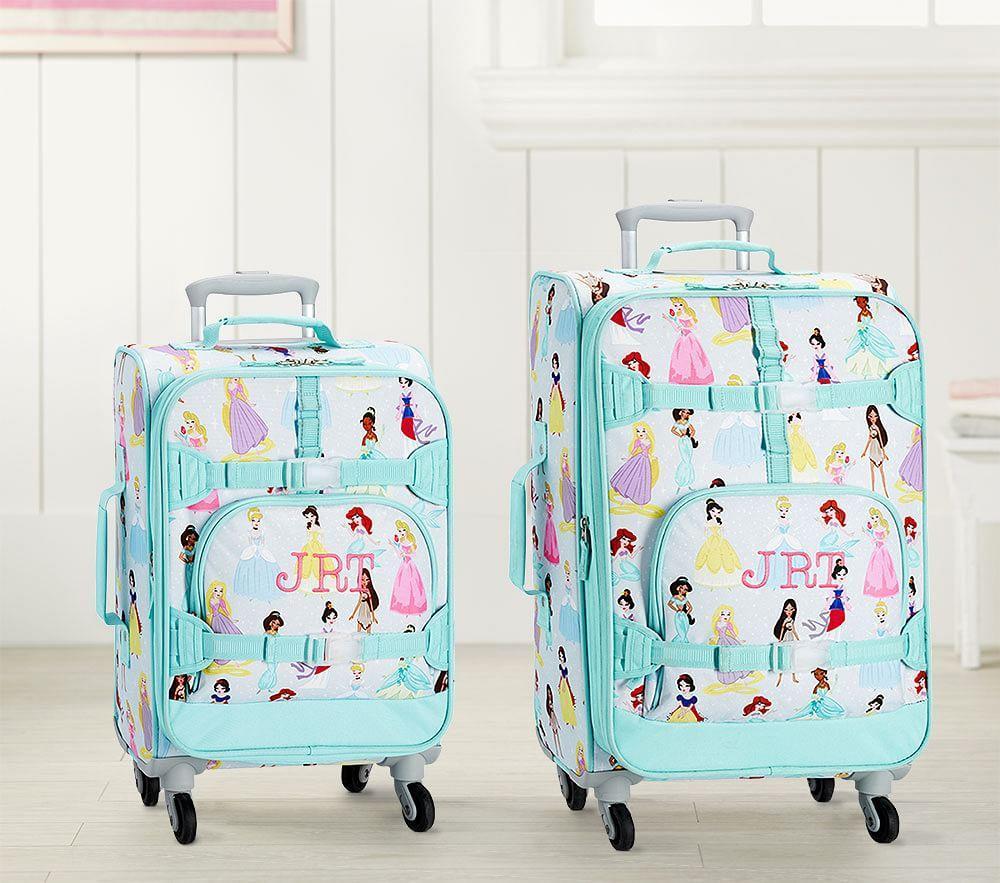 Mackenzie Aqua Disney Princess Luggage Pottery Barn Kids Au