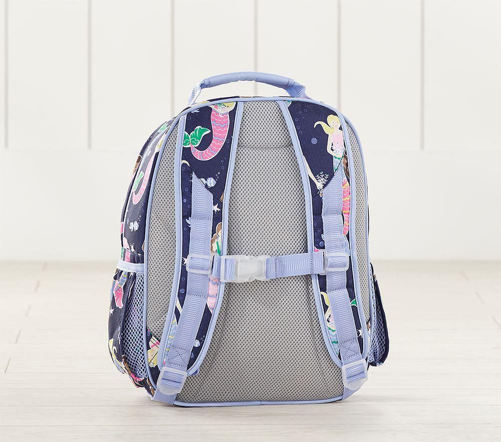 Mackenzie Aqua Lavender Charming Emojis Backpacks