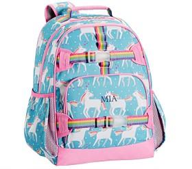 Mackenzie Aqua Unicorn Backpack