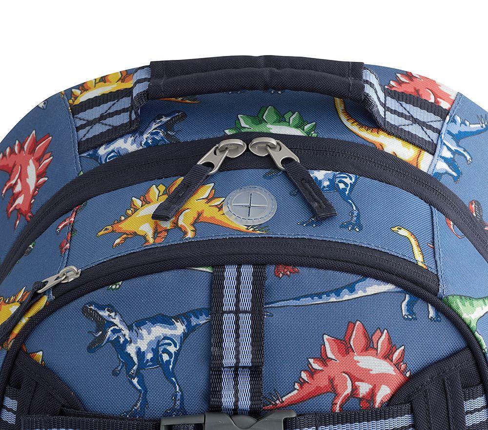 Mackenzie Blue Multicolor Dino Backpack Pottery Barn Kids Au