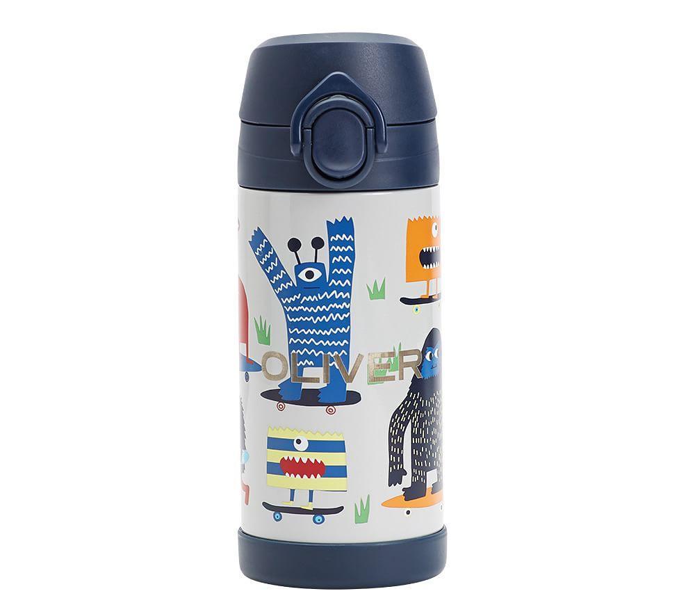 Mackenzie Gray/Blue Preppy Monster Water Bottles & Food Storage