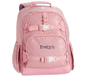 Mackenzie Pink Glitter Backpacks
