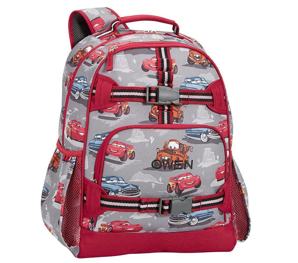 Mackenzie Grey Disney Pixar Cars Backpack Pottery Barn