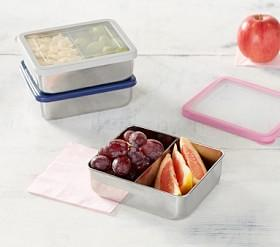 Spencer Stainless Dual Compartment Food Storage