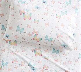 Organic Gigi Butterfly Sheet Set