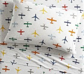 Organic Jersey In-Flight Sheet Set