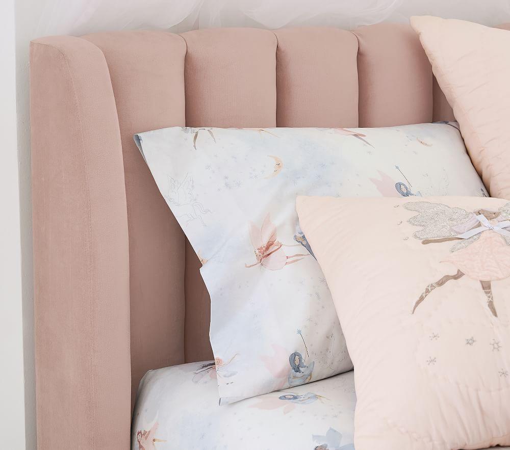 Avalon Bed - Pale Blush