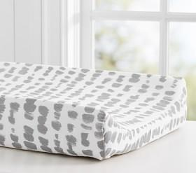 Brushstroke Dot Changing Pad Cover