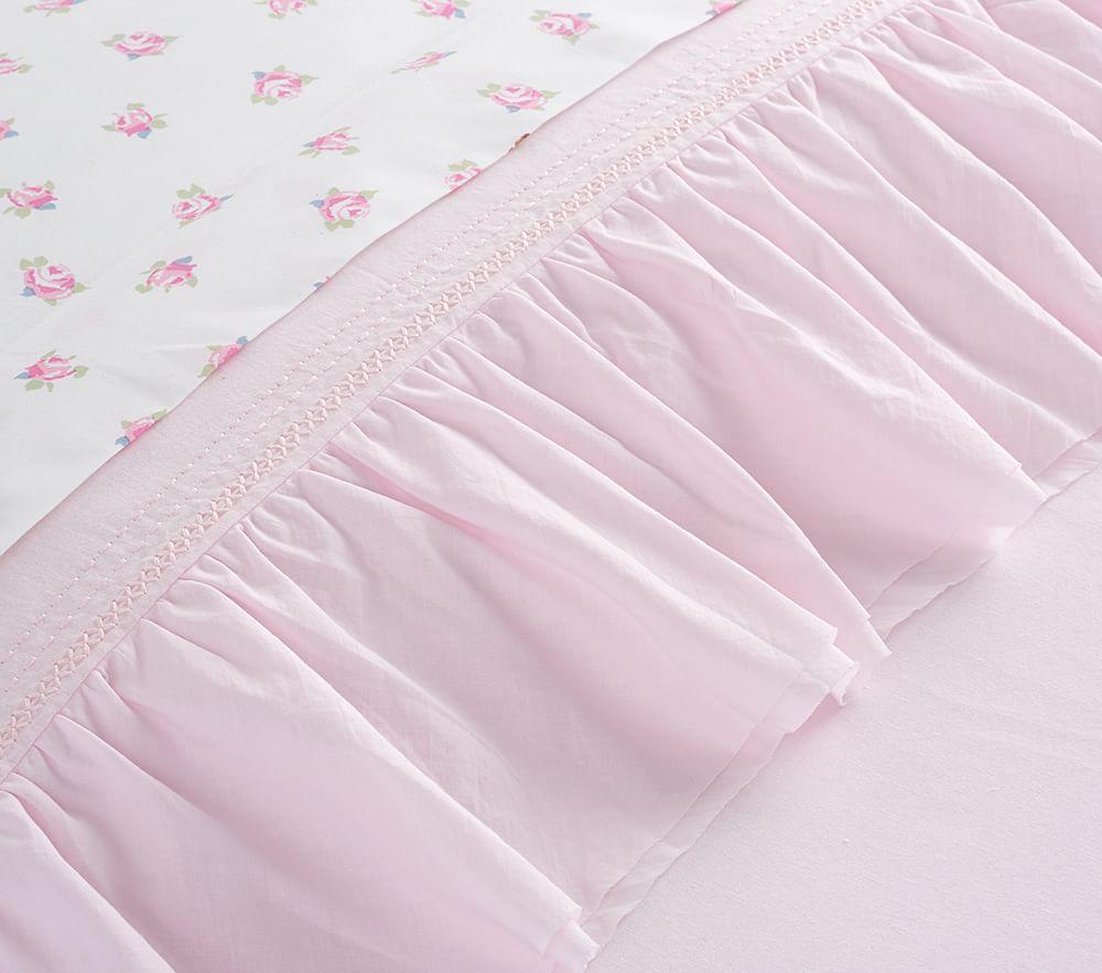 Organic Sadie Ruffle Quilt Cover