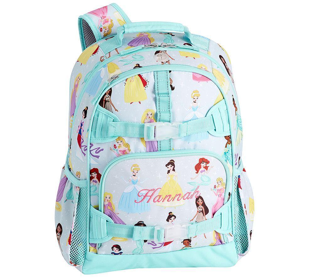 Mackenzie Aqua Disney Princess Backpack Pottery Barn Kids Au