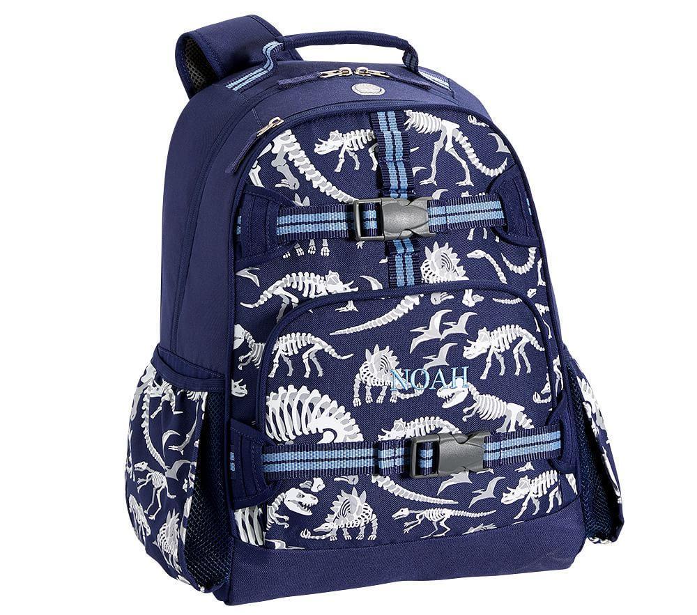 Mackenzie Blue Dino Glow In The Dark Backpack Pottery