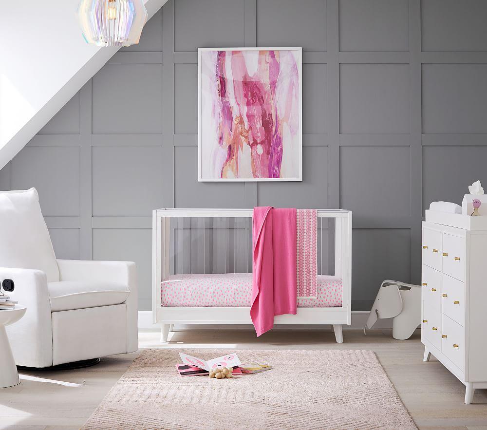 Sloan Acrylic Convertible Cot