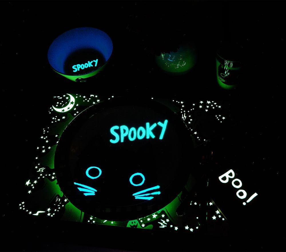 Halloween Glow-in-the-Dark Bat Napkin