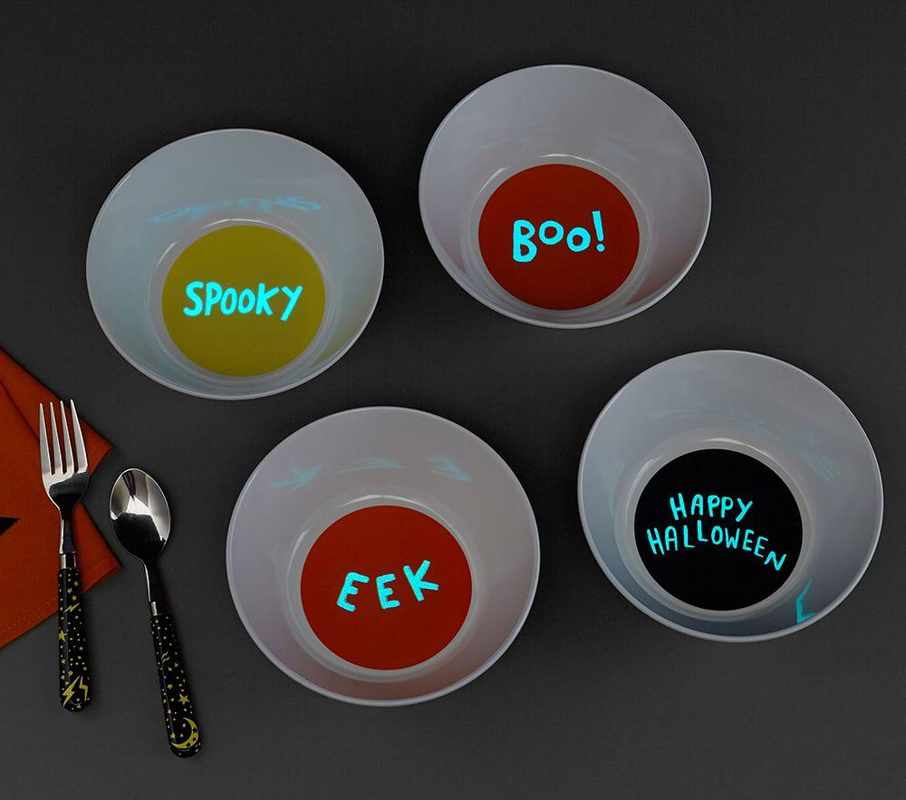 Halloween Glow-in-the-Dark Bowls