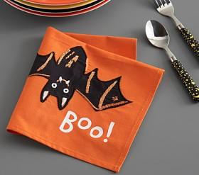 Halloween Glow-in-the-Dark Bat Napkin