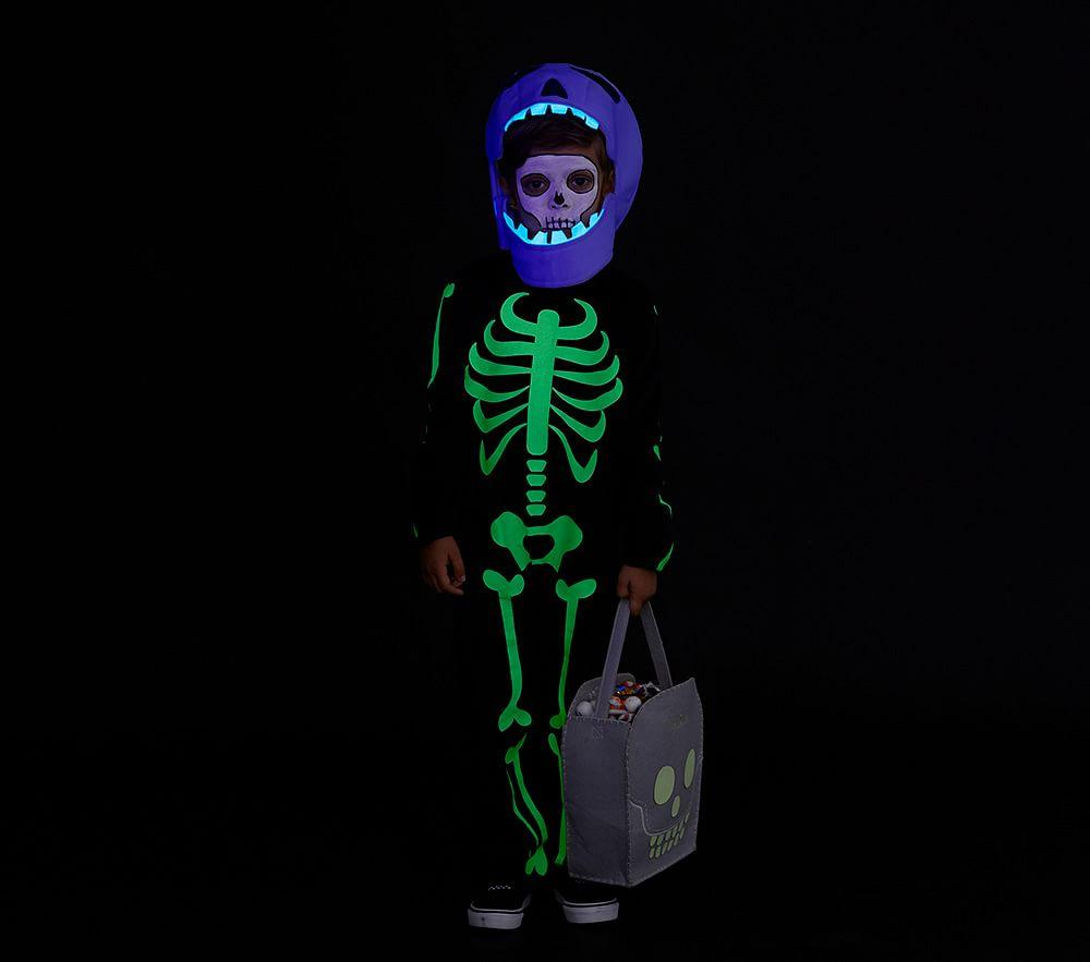 Glow-in-the-Dark Skeleton Costume