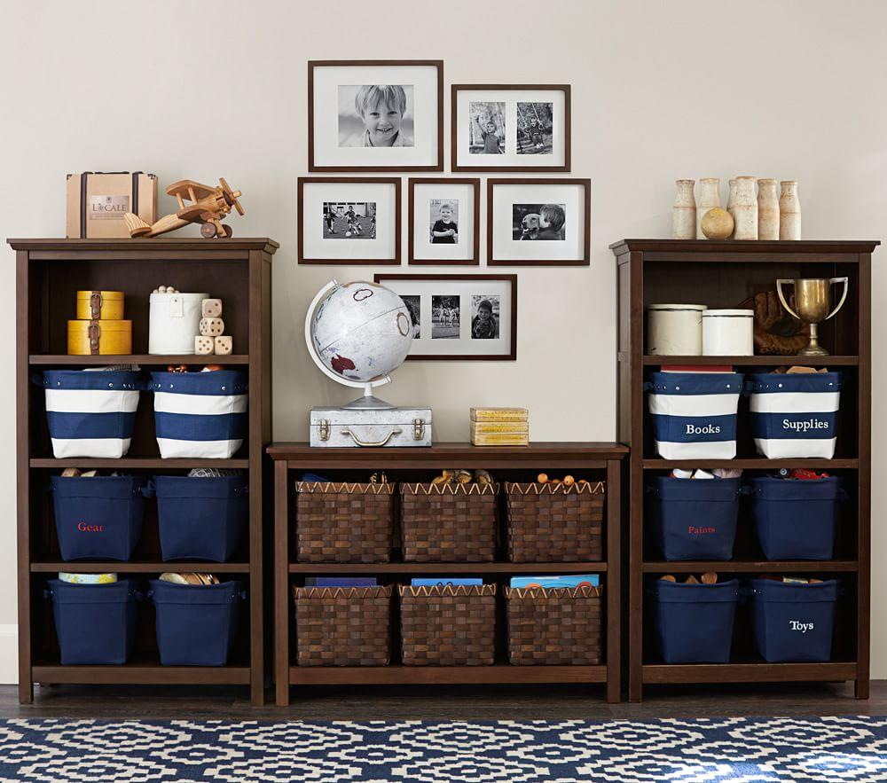 Navy Canvas Storage Pottery Barn Kids Au