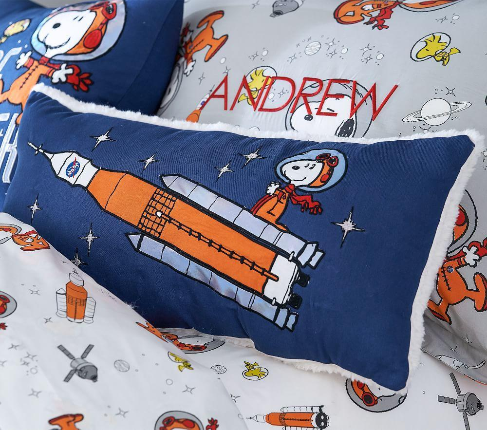 Lightup Snoopy® Rocket Cushion