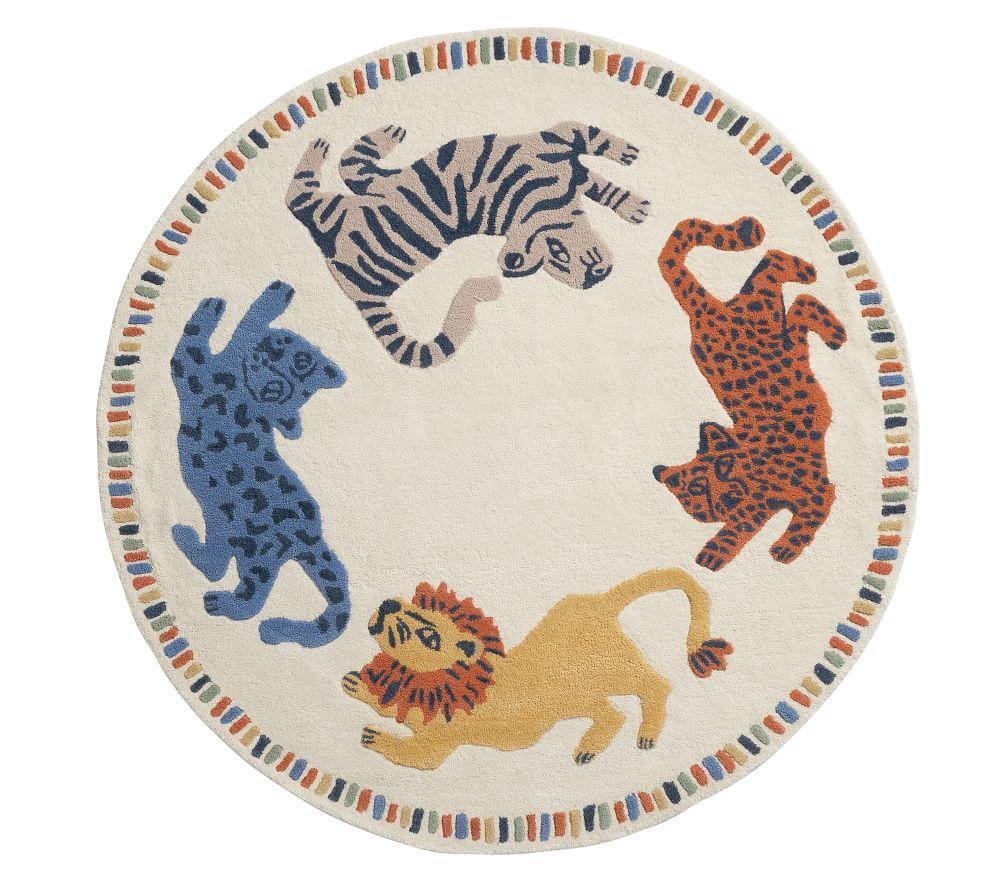Mid Century Safari Animal Rug