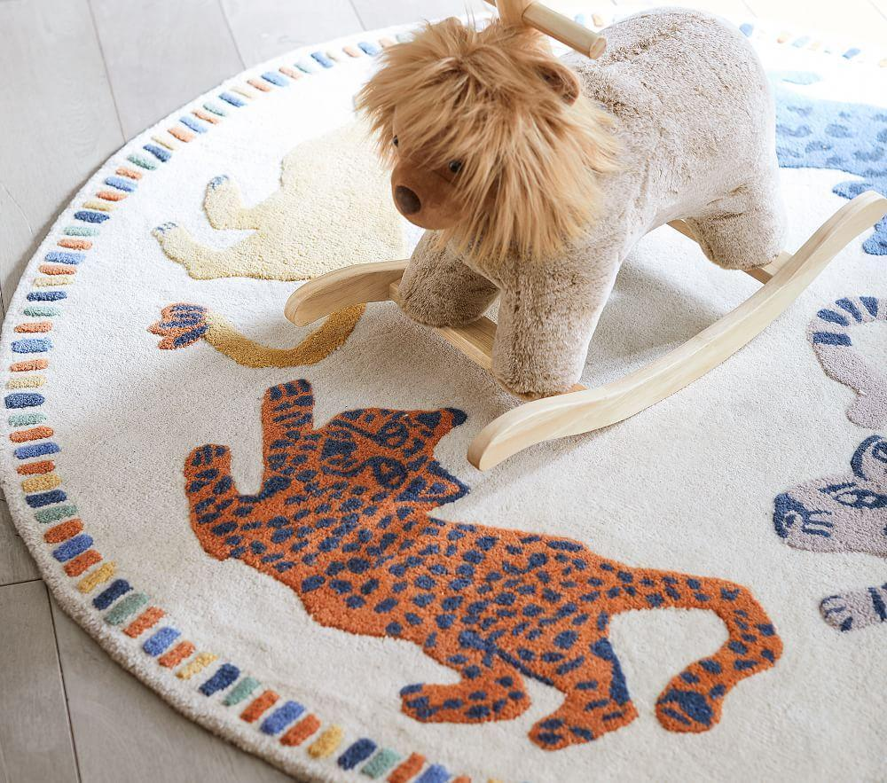 Mid Century Safari Animal Rug