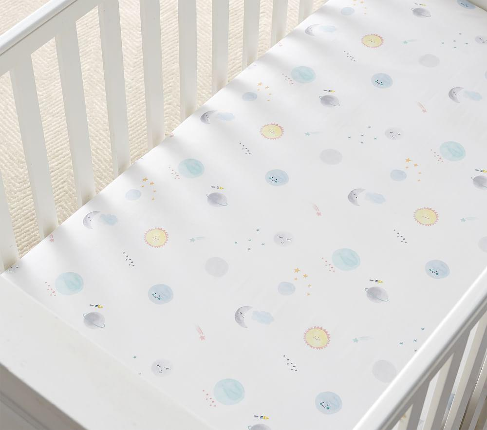 Organic Emmy Cot Fitted Sheet