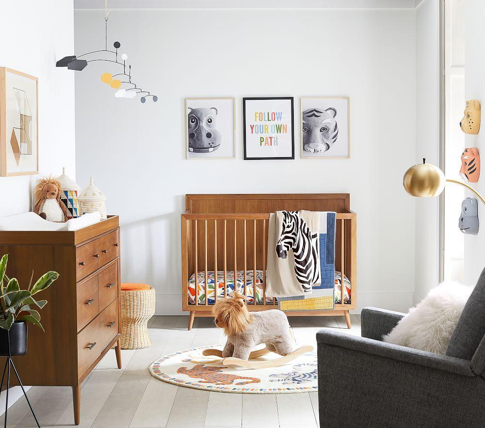 west elm x pbk Century Safari Toddler Comforter