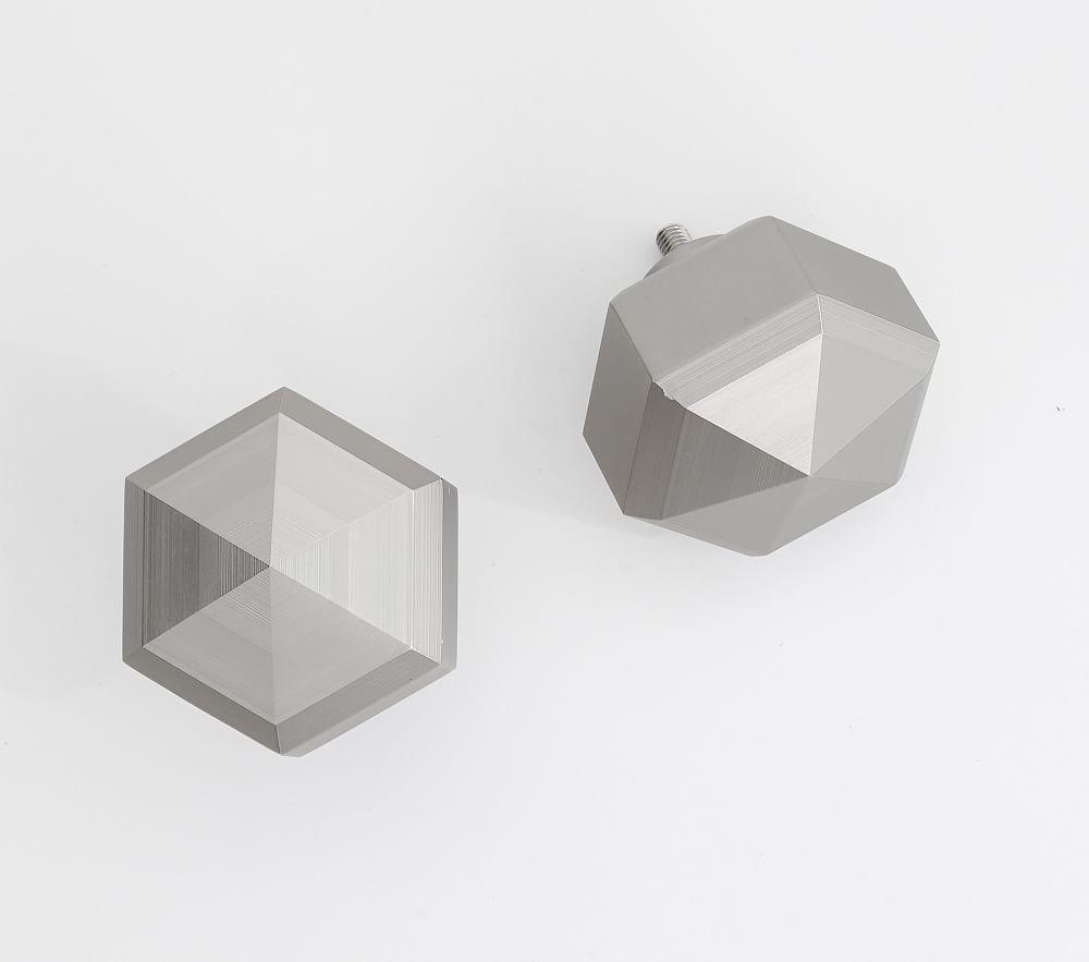 Hexagon Faceted Finial