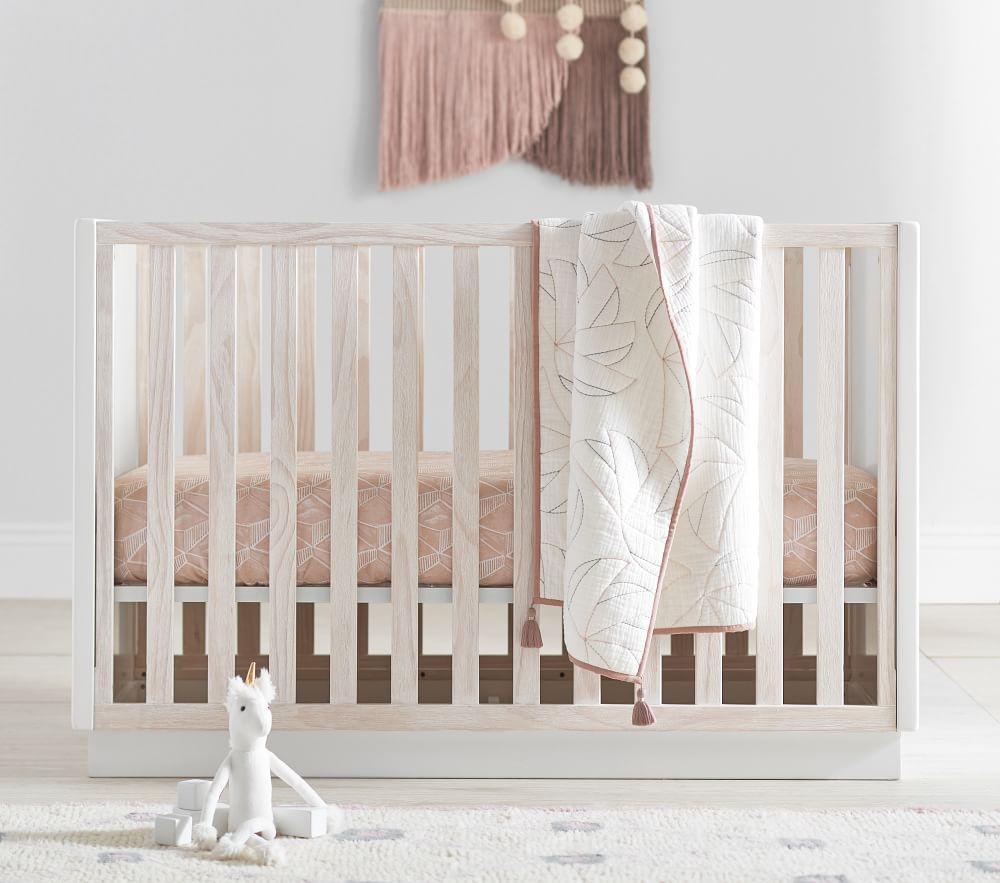 west elm x pbk Modernist Convertible Cot
