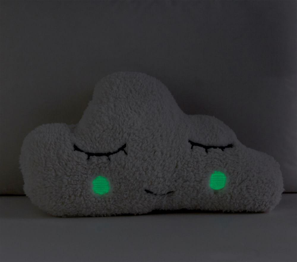 Sherpa Cloud Glow-in-the-Dark Cushion