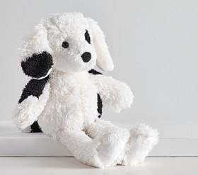 Sherpa Spotted Puppy Plush