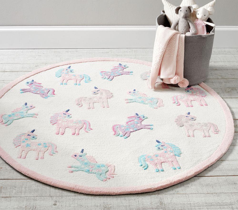 Unicorn Round Rug
