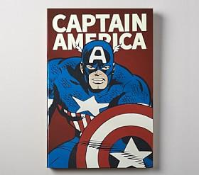 Marvel Super Heroes Glow In the Dark Art, Captain America