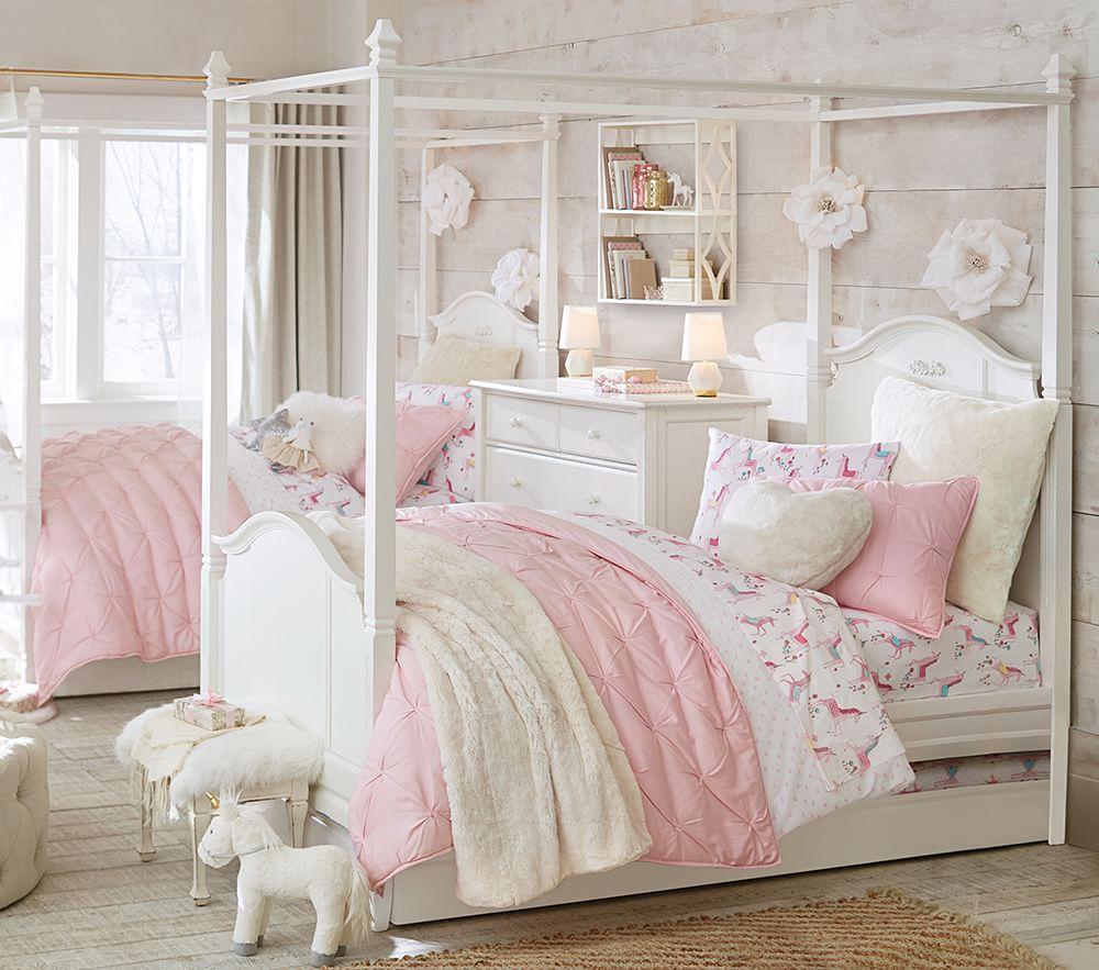 Audrey Comforter - Blush