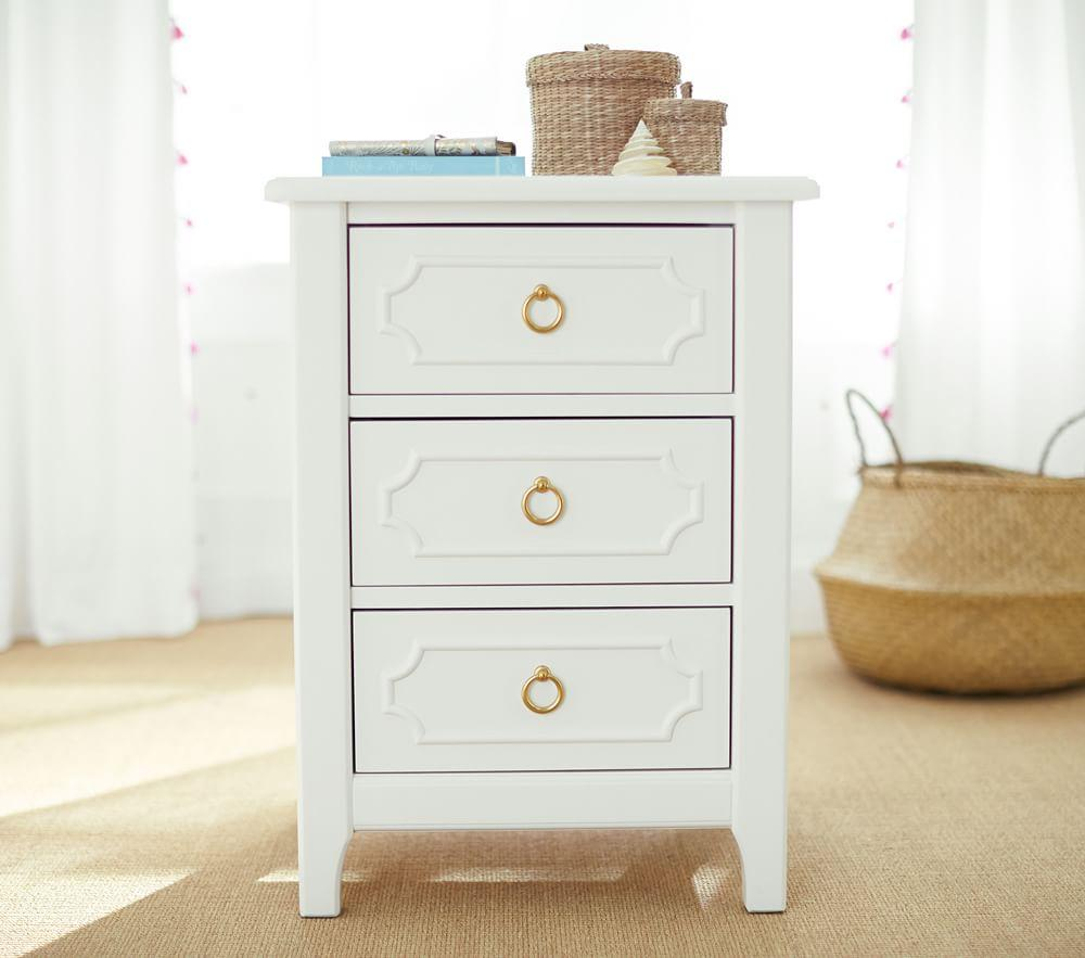 Ava Regency Bedside Table
