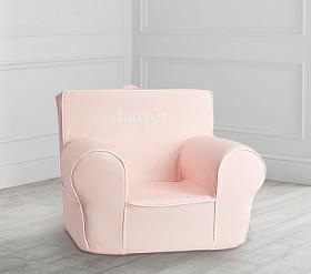 Blush With White Piping Anywhere Chair®