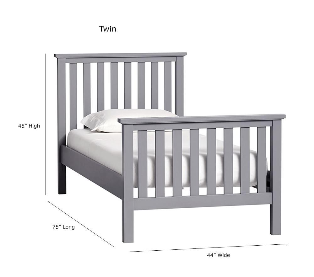Elliott Bed - Charcoal