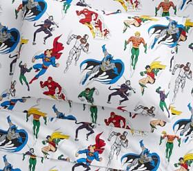 Glow-in-the-Dark Justice League™ Sheet Set