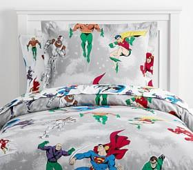Glow-in-the-Dark Justice League™ Quilt Cover