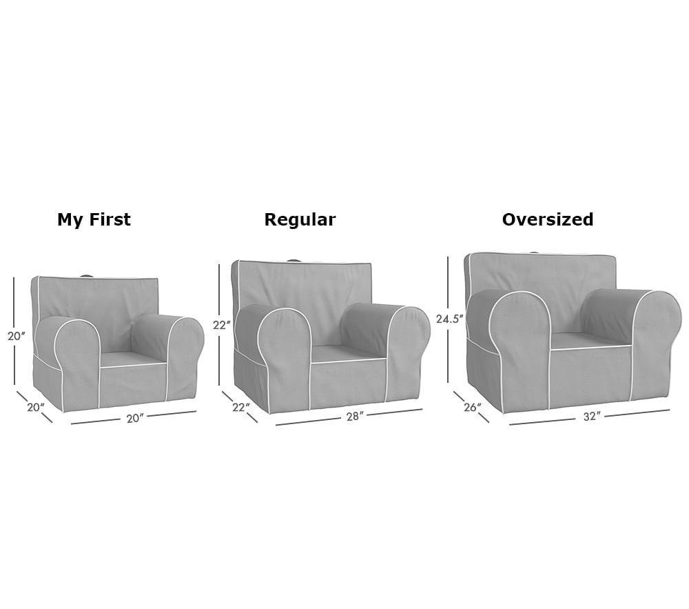Ivory Unicorn Faux Fur Anywhere Chair®
