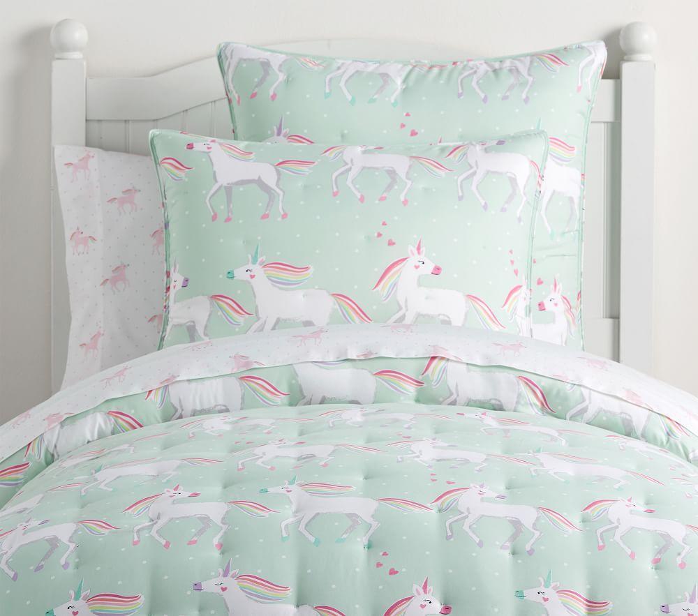 Molly Unicorn Dream Puff Comforter