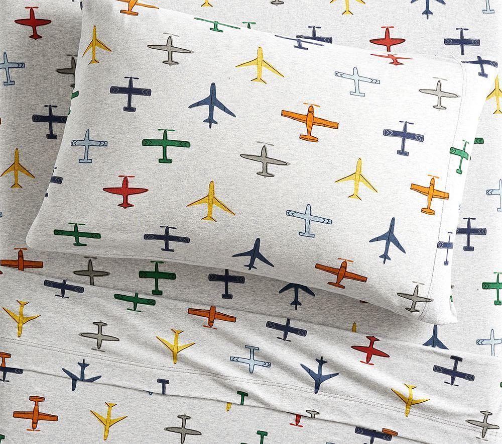 Organic Jersey In-Flight Sheet Set