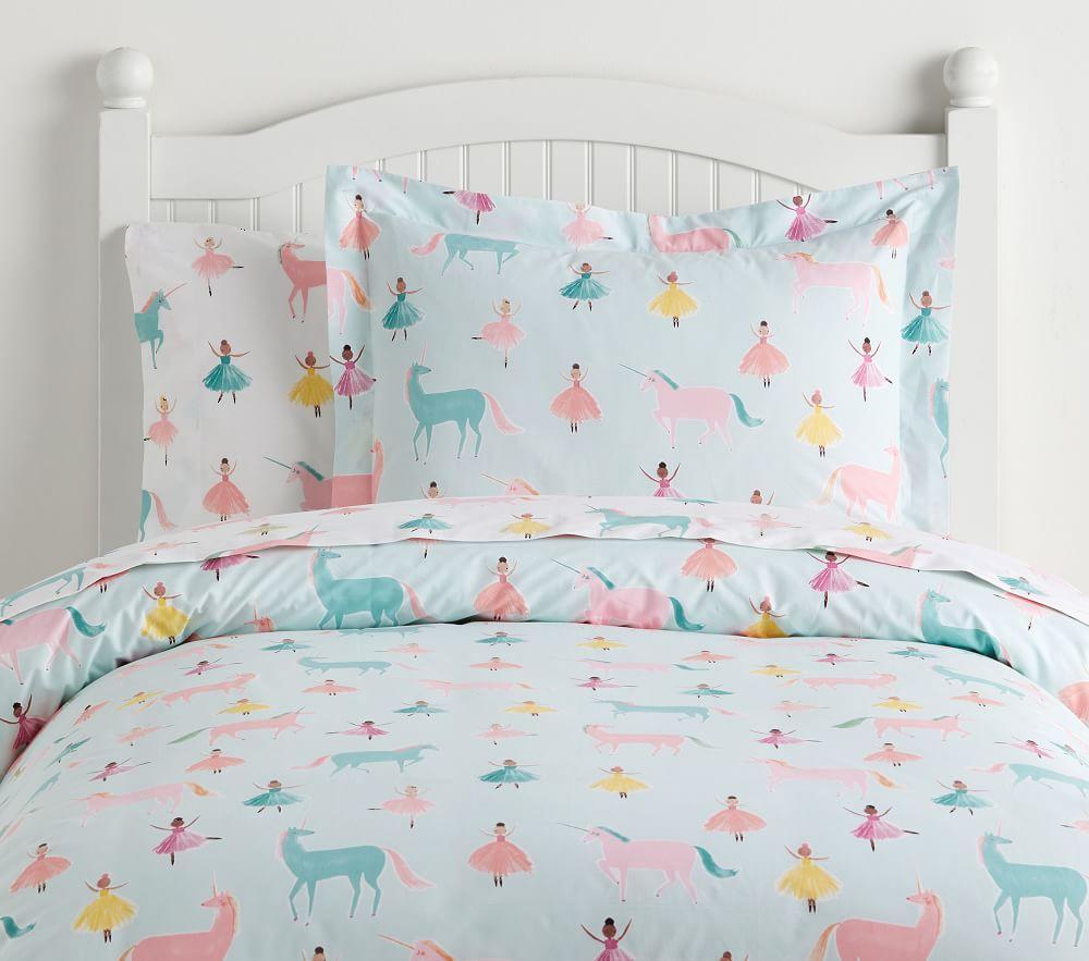 Organic Windsor Unicorn Sheet Set