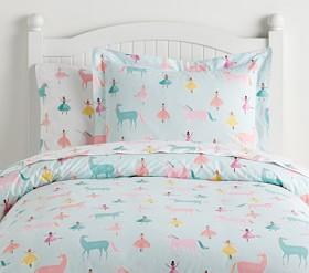 Organic Windsor Unicorn Quilt Cover