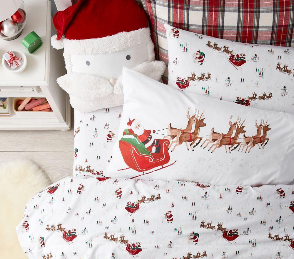 Santa Sleigh Pillowcase