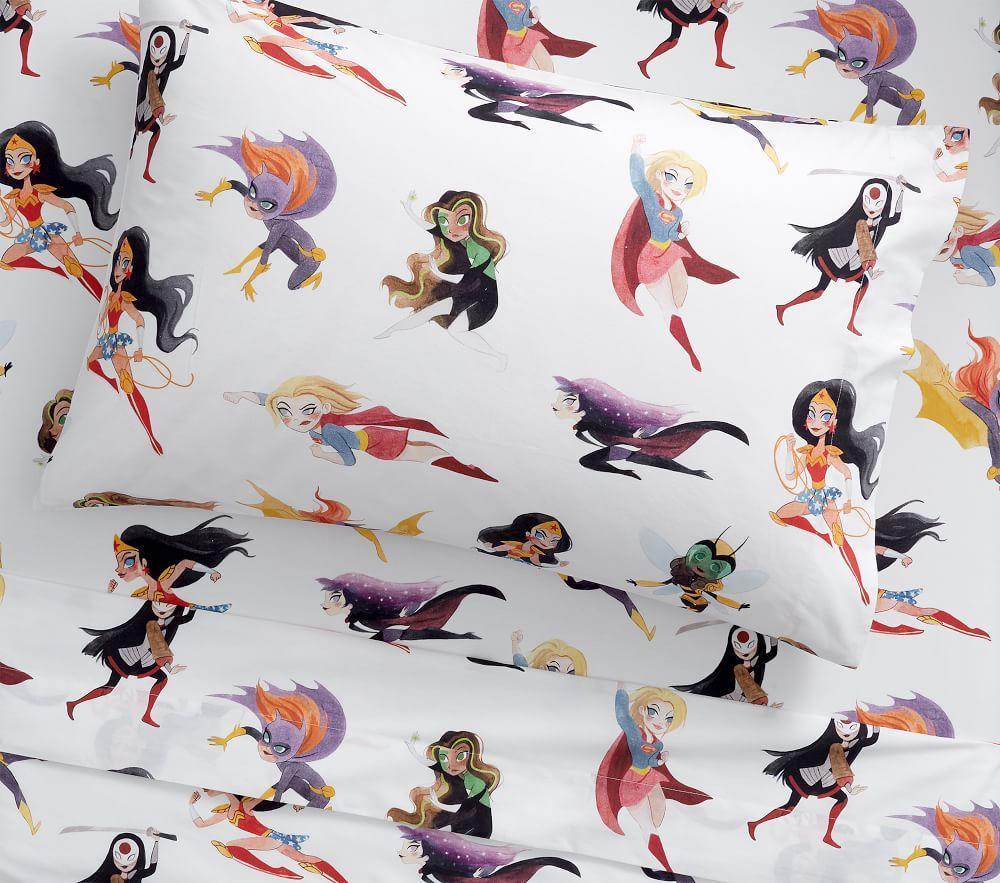 DC Superhero Girls Sheet Set