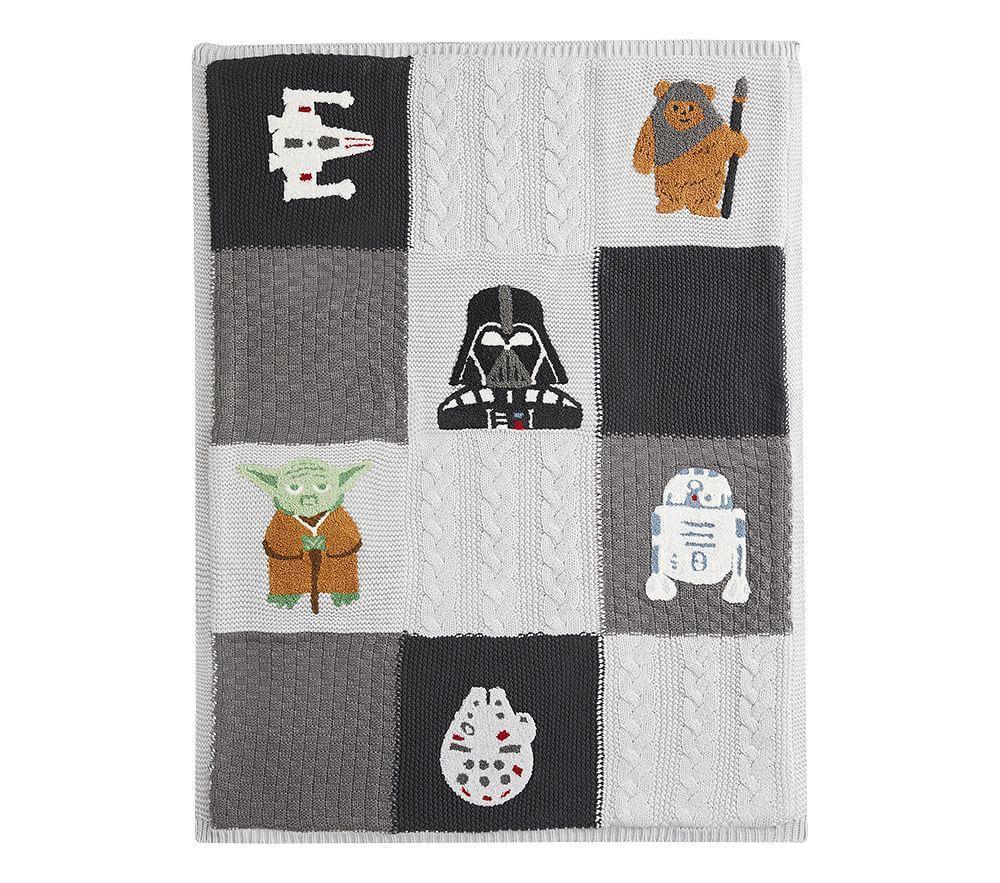 Star Wars™ Heirloom Patchwork Knit Baby Blanket