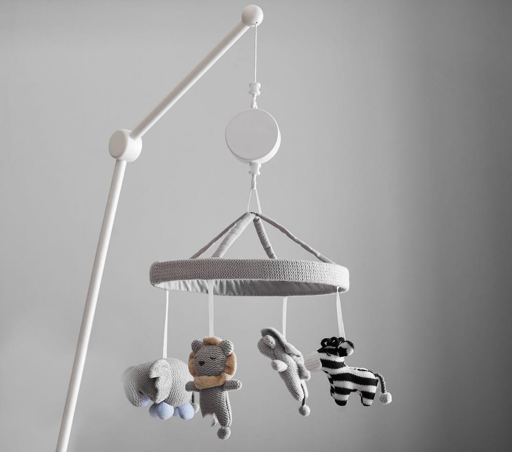 Knit Animal Cot Mobile Pottery Barn Kids Au