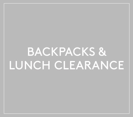 Backpacks & Lunch Clearance